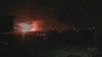 Photo of شام میں امریکہ سے وابستہ گروہ کے ہتھیاروں کے گودام میں دھماکہ