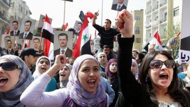 Photo of شام میں امریکہ مخالف مظاہرہ