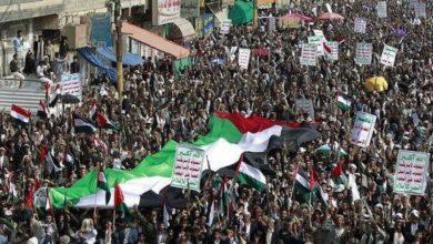 Photo of سعودی جارحیت کے خلاف یمنی عوام کا مظاہرہ