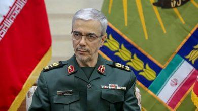 Photo of ایرانی عوام نے ہمیشہ دشمن کے دانت کھٹے کئے ہیں: جنرل باقری