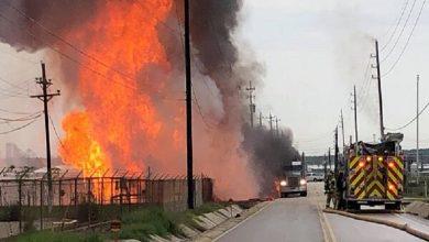 Photo of امریکی گیس پلانٹ میں دھماکہ اور آتش زدگی