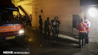 Photo of تہران میں ایک کلینک میں گیس سیلنڈر دھماکے میں 19 افراد جاں بحق