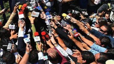 Photo of ایران پر پابندیوں کے خلاف ایران میں مقیم غیرملکی نامہ نگاروں کا احتجاج