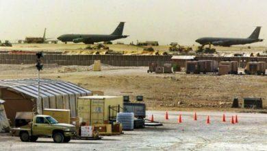Photo of عراق میں امریکی فوجی اڈے پر راکٹوں سے حملے