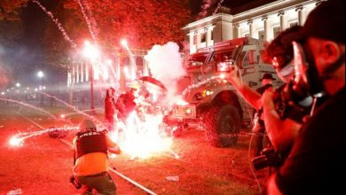 Photo of پولیس کے تشدد اور نسل پرستی کے خلاف امریکہ میں پر تشدد مظاہرے جاری