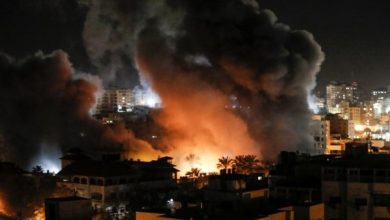 Photo of اسرائیل کے جنگی طیاروں کی غزہ پر وحشیانہ بمباری