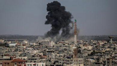 Photo of غزہ میں حماس کے ٹھکانوں پر اسرائیل کی گولہ باری