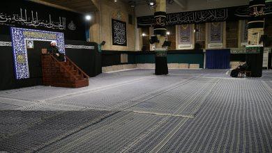 Photo of رہبر انقلاب اسلامی کی موجودگی میں شب عاشور کی مجلس