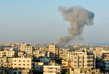 Photo of صیہونی دشمن نے غزہ پر بھر گولہ باری کی