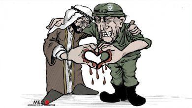 Photo of عرب اسرائیل امن معاہدہ ۔ کارٹون