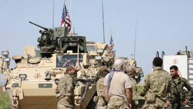 Photo of فوجی ساز و سامان لے جانے والے امریکی کانوائے کے راستے میں دھماکے
