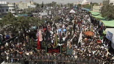 Photo of پاکستان میں اربعین حسینی میں لوگوں کی وسیع پیمانے پر شرکت