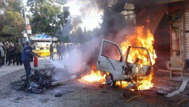 Photo of شام میں کار بم دھماکہ، ترکی کے حمایت یافتہ دہشت گرد عناصر ہلاک