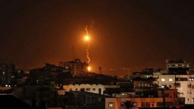 Photo of غزہ پر اسرائیل کا ایک بار پھر میزائلی حملہ
