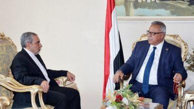 Photo of ایران کے سفیر نے یمن کی نیشنل سالویشن حکومت کے سربراہ سے ملاقات کی