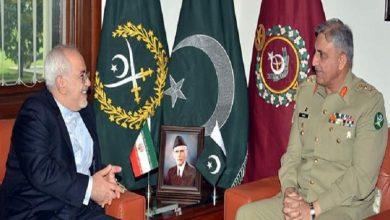 Photo of ایران کے وزیر خارجہ کی پاکستان کے آرمی چیف سے ملاقات