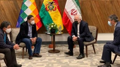 Photo of بولویہ کے منتخب صدر سے ایران کے وزیر خارجہ کی ملاقات