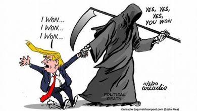 Photo of ٹرمپ کی شکست، کارٹونسٹ کی نظر میں…