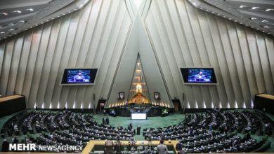 "Photo of ایرانی پارلیمنٹ "" امریکہ مردہ باد "" کے فلک شگاف نعروں سے گونج اٹھی"
