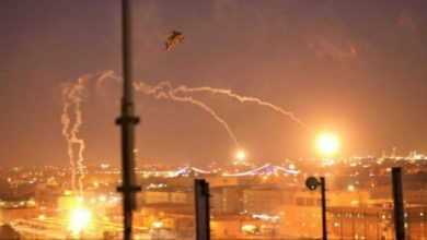 Photo of بغداد، امریکی دہشتگردی کے اڈے پر راکٹ حملہ