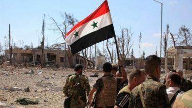Photo of شامی فوج نے کی دہشتگردوں کے ٹھکانوں پر بمباری