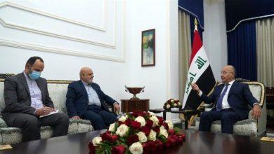 Photo of عراق کے صدر نے ایران کے ممتاز سائنسداں کے بہیمانہ قتل کی مذمت کی