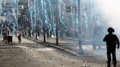 Photo of صیہونی دہشتگردوں اور فلسطینوں کے درمیان تصادم