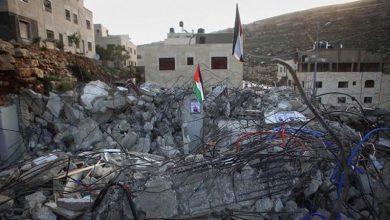Photo of فلسطینیوں کے درجنوں مکانات منہدم