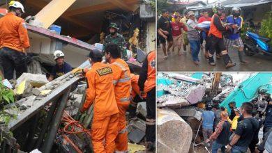 Photo of انڈونیشیا میں 6 اعشاریہ 2 شدت کا زلزلہ