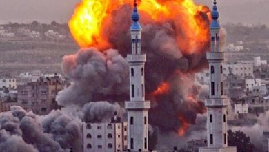 Photo of اسرائیل کے جنگي طیاروں کی غزہ پٹی کے جنوب میں شدید بمباری
