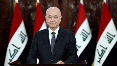 Photo of عراقی صدر نے شہید قاسم سلیمانی کی جانفشانیوں کو سراہا