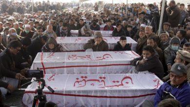 Photo of سانحۂ مچھ کے شہداء کی تدفین شروع