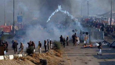 Photo of اسلام آباد میں سرکاری ملازمین اور پولیس کے درمیان تصادم