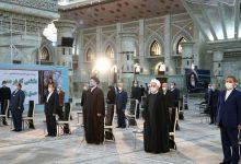 Photo of صدر مملکت اور کابینہ کے اراکین کا امام خمینی (رح) سے تجدید عہد