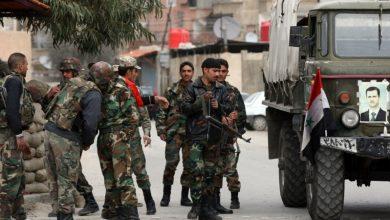 "Photo of شام کے فوجی دستے 8 برس کے بعد "" طفس شہر"" میں داخل"