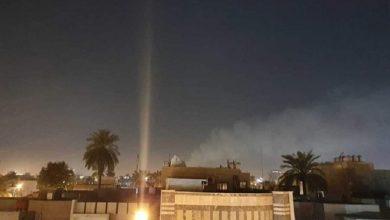Photo of بغداد، امریکی سفارتخانے پر پھر راکٹ حملہ