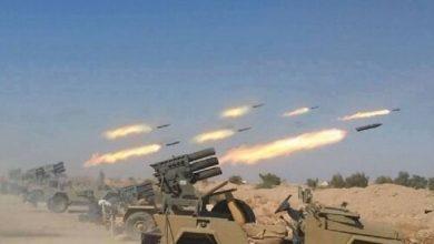 Photo of داعش پر بجلی بن کر گرے رضاکار فورس کے میزائل