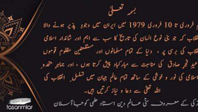 Photo of انقلابِ   اسلامی ایران کی 42 وی سالگراہ کی مناسبت سے  ترکی کے معروف سنّی عالم دین استاد حلمی کوجاآسلان کا پیغام