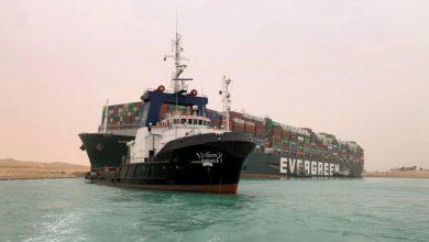 Photo of نہر سوئز میں پھنسے بحری جہاز کو نکال لیا گیا