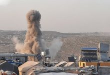 Photo of شام اور ترکی کی سرحد کے قریب دہشتگردوں پر فضائی حملہ