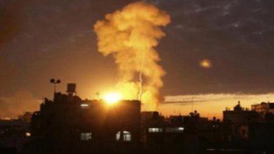 Photo of غزہ کے مرکز میں دھماکہ