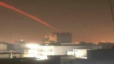 Photo of بغداد ایر پورٹ کے قریب امریکی اڈے پر راکٹوں سے حملہ