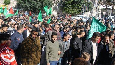 Photo of انتخابات ملتوی ہونے کے خلاف فلسطینیوں کے مظاہرے