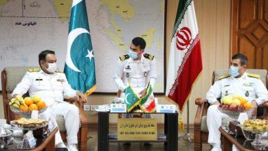 Photo of پاکستانی بحریہ کا جہازایرانی بندرگاہ پر لنگر انداز … مشترکہ فوجی مشقوں پر تبادلہ خیال … علاقائي ملکوں کے کردار پر زور