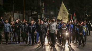 Photo of غزہ پٹی میں فلسطینیوں کے مظاہرے