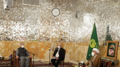Photo of روضہ رضوی کے متولی سے پاکستانی وزیر خارجہ کی ملاقات