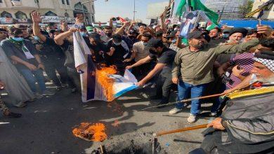 Photo of فلسطین کی حمایت میں عراقی عوام کے مظاہرے + تصاویر