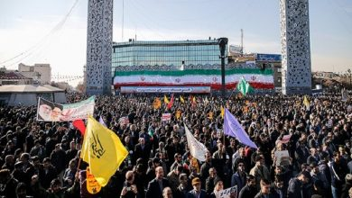 Photo of تہران میں فلسطینیوں کی حمایت میں مظاہرہ