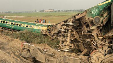 Photo of پاکستان، ٹرینوں کے درمیان تصادم میں متعدد افراد جاں بحق