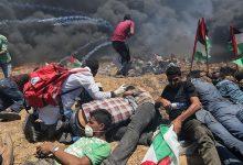 Photo of صیہونی فوجیوں کی فائرنگ سے 270 فلسطینی زخمی